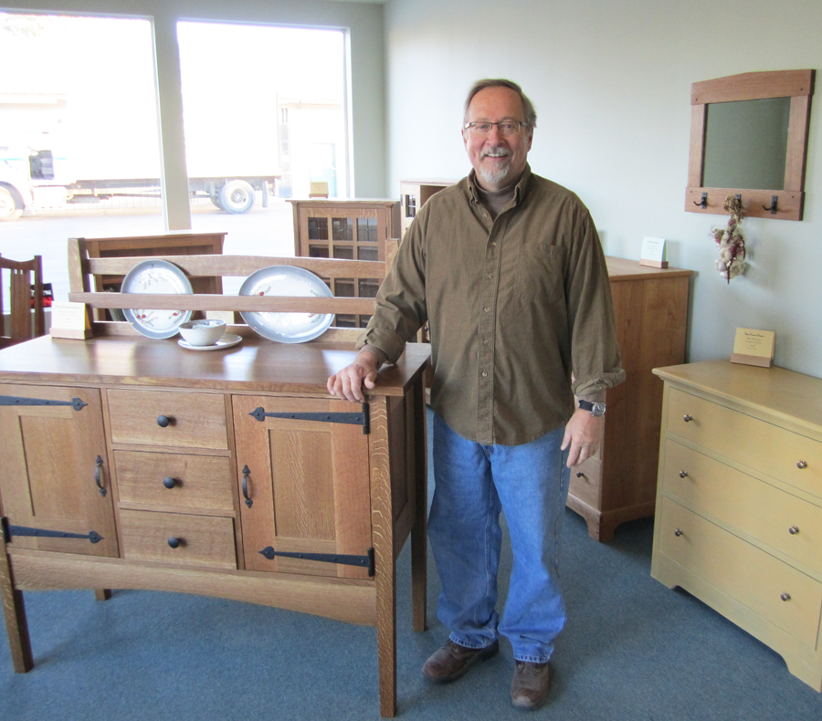 Brad Hanson of Selkirk Craftsman Furniture